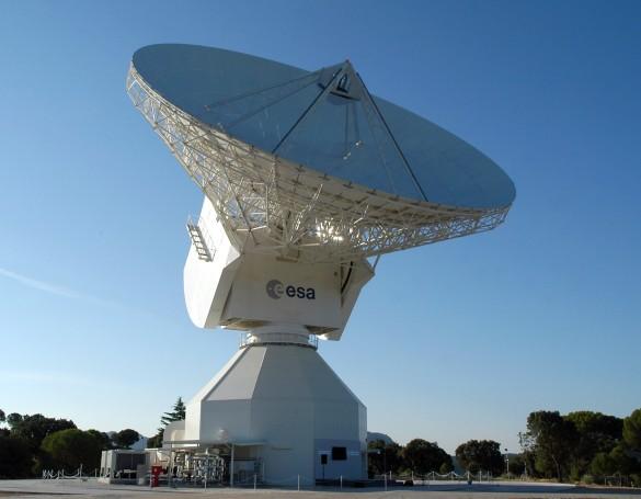 Abbildung 6: Deep-Space-Antenne DSA2 in Cebreros (Foto ESA)